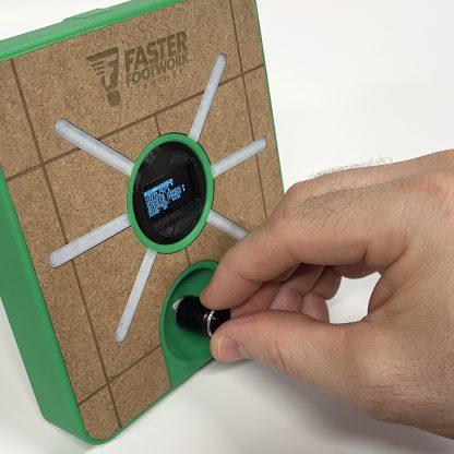 Badminton Faster Footwork Trainer control knob